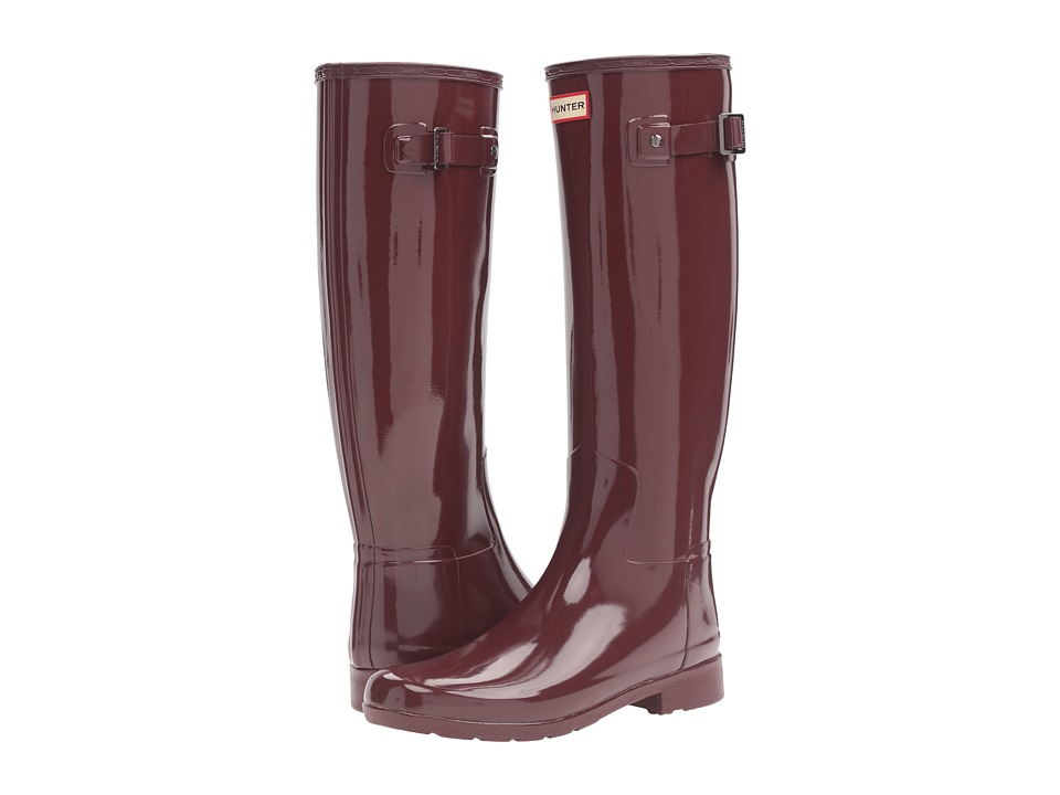 Hunter - Original Refined Gloss (Dulse) Women's Rain Boots