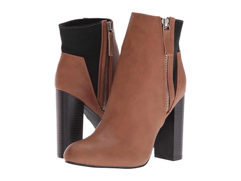 C Label - Spade-5 (Camel) Women's Boots