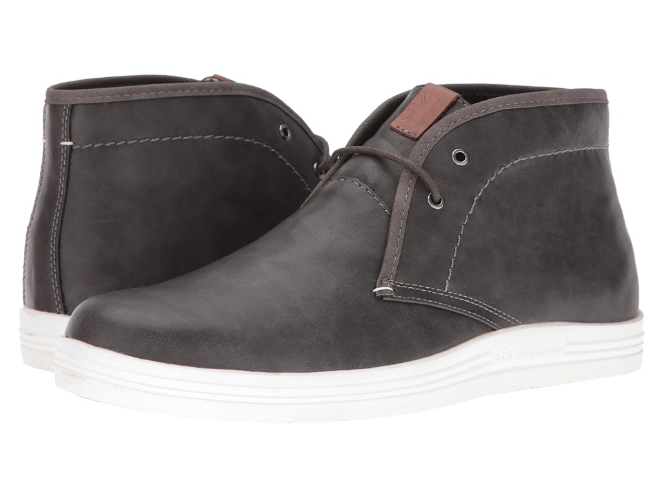 Ben Sherman - Vance (Grey) Men's Lace-up Boots