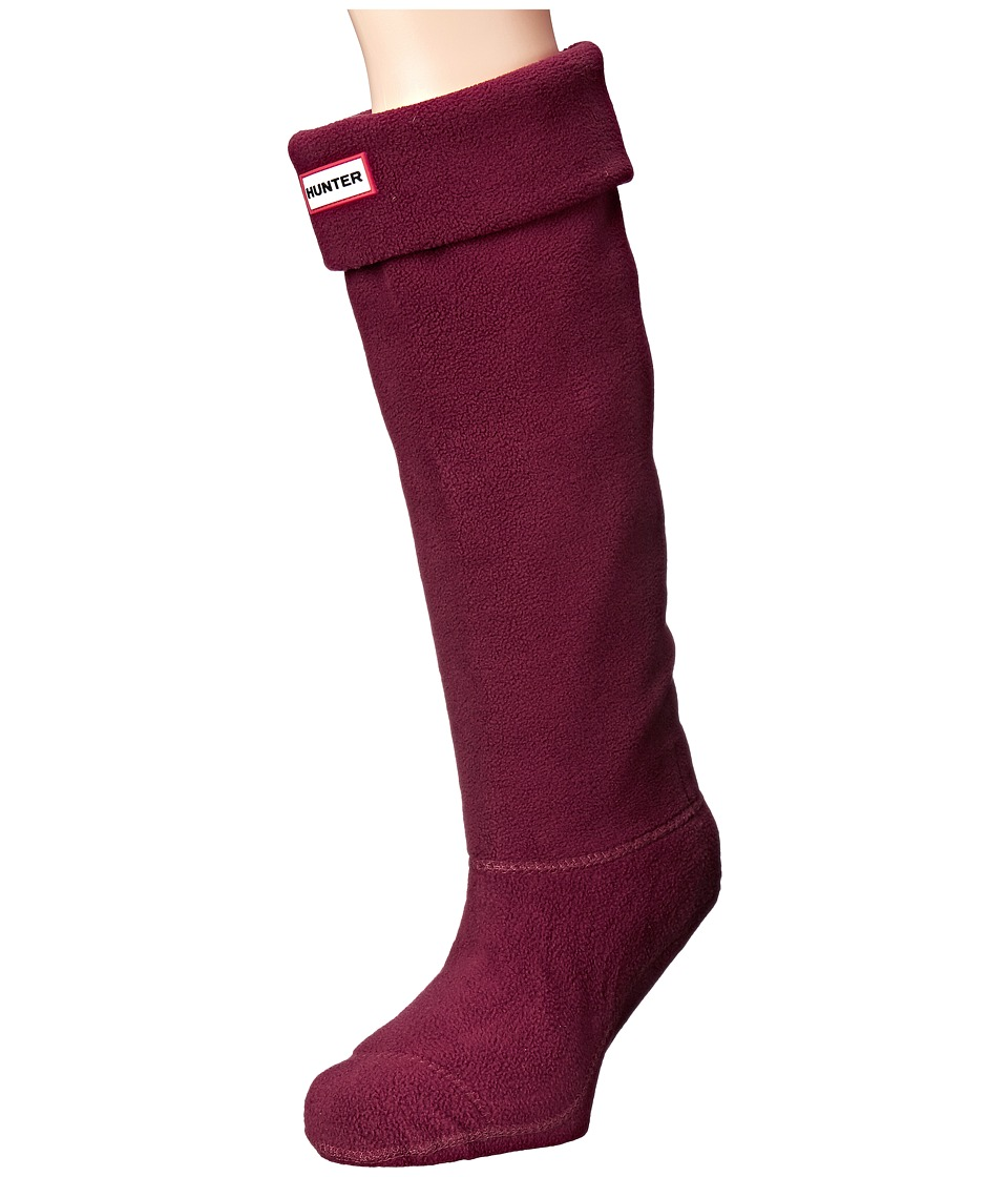 Hunter - Boot Socks (Dulse) Women's Crew Cut Socks Shoes