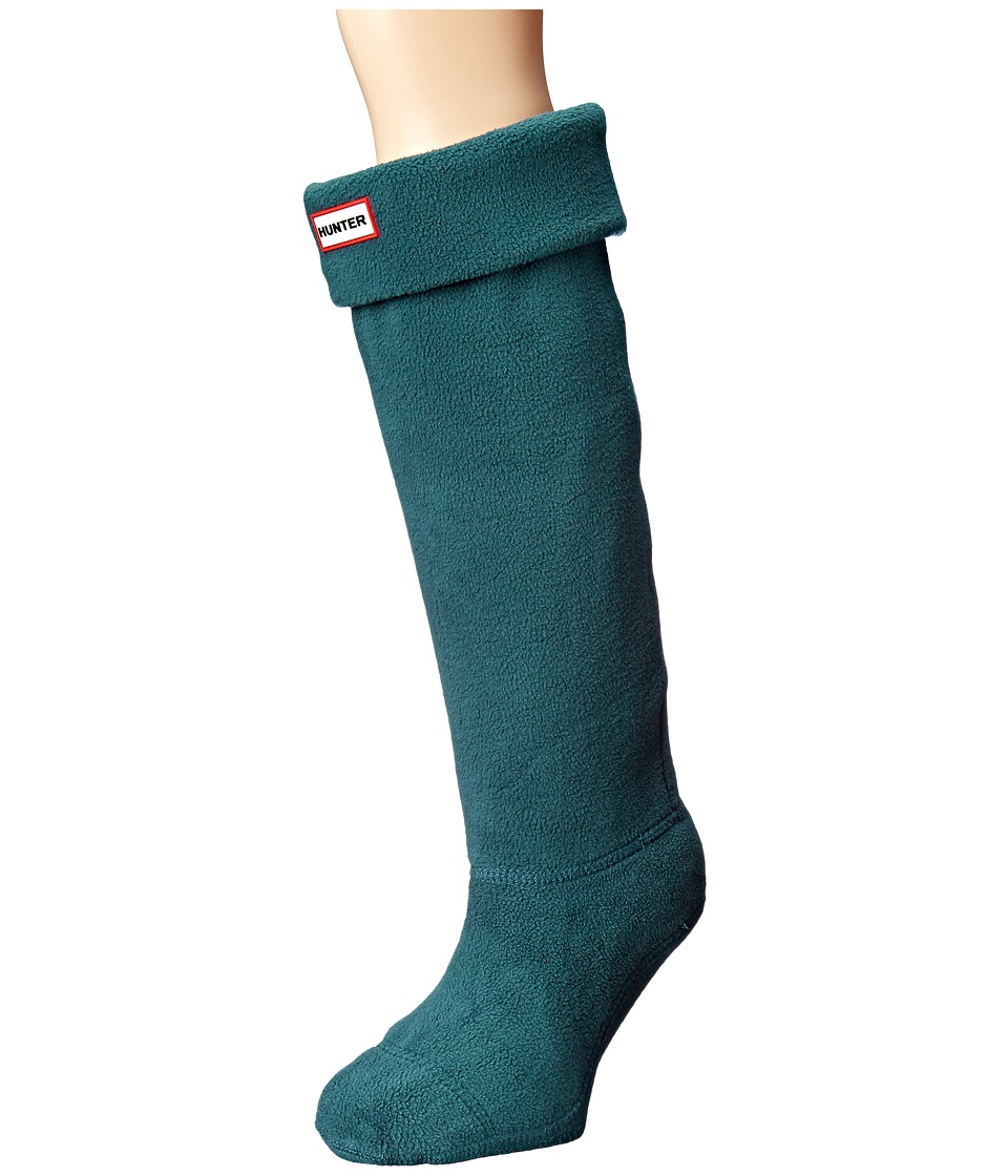 Hunter - Boot Socks (Ocean) Women's Crew Cut Socks Shoes