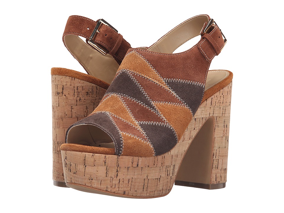 Marc Fisher LTD - Queenie (Brown Multi Suede) Women's Shoes
