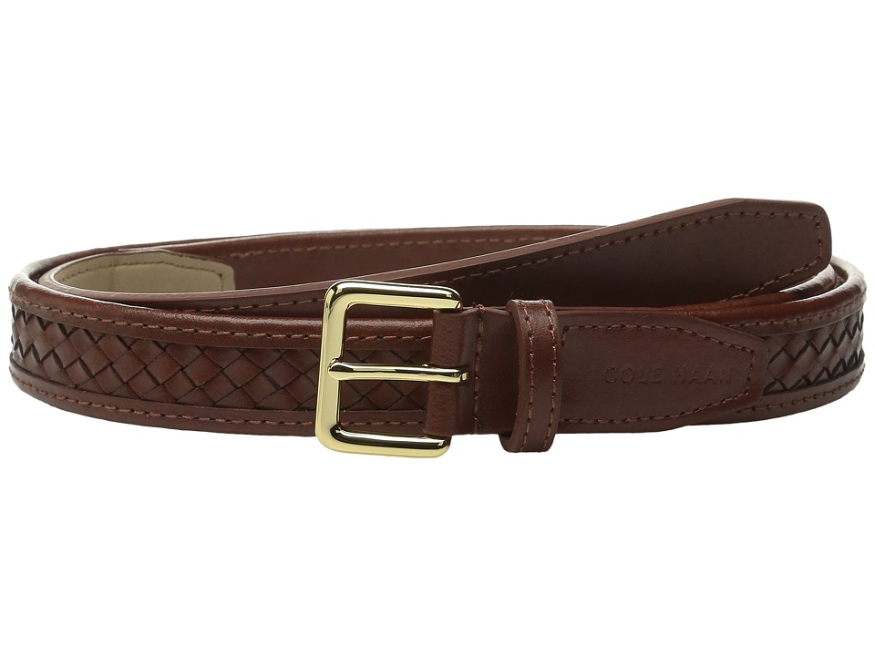 Cole Haan - 20mm Woven Belt with Harness Buckle (Sequoia) Women's Belts