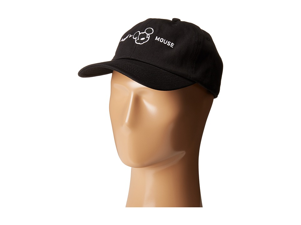 Neff - Milano Mickey Baseball Cap (Black) Baseball Caps