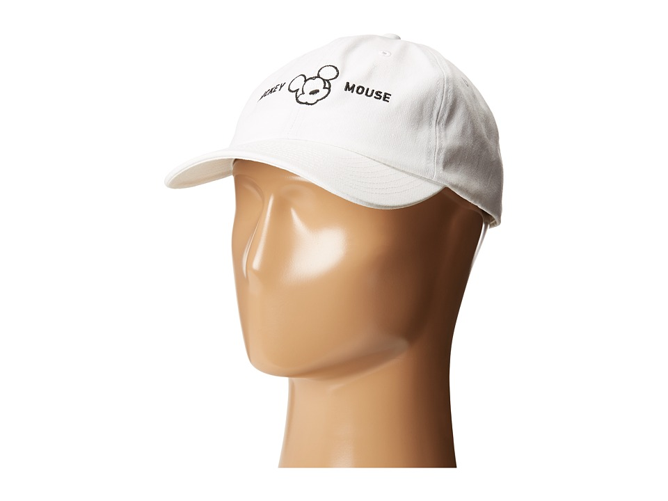 Neff - Milano Mickey Baseball Cap (White) Baseball Caps