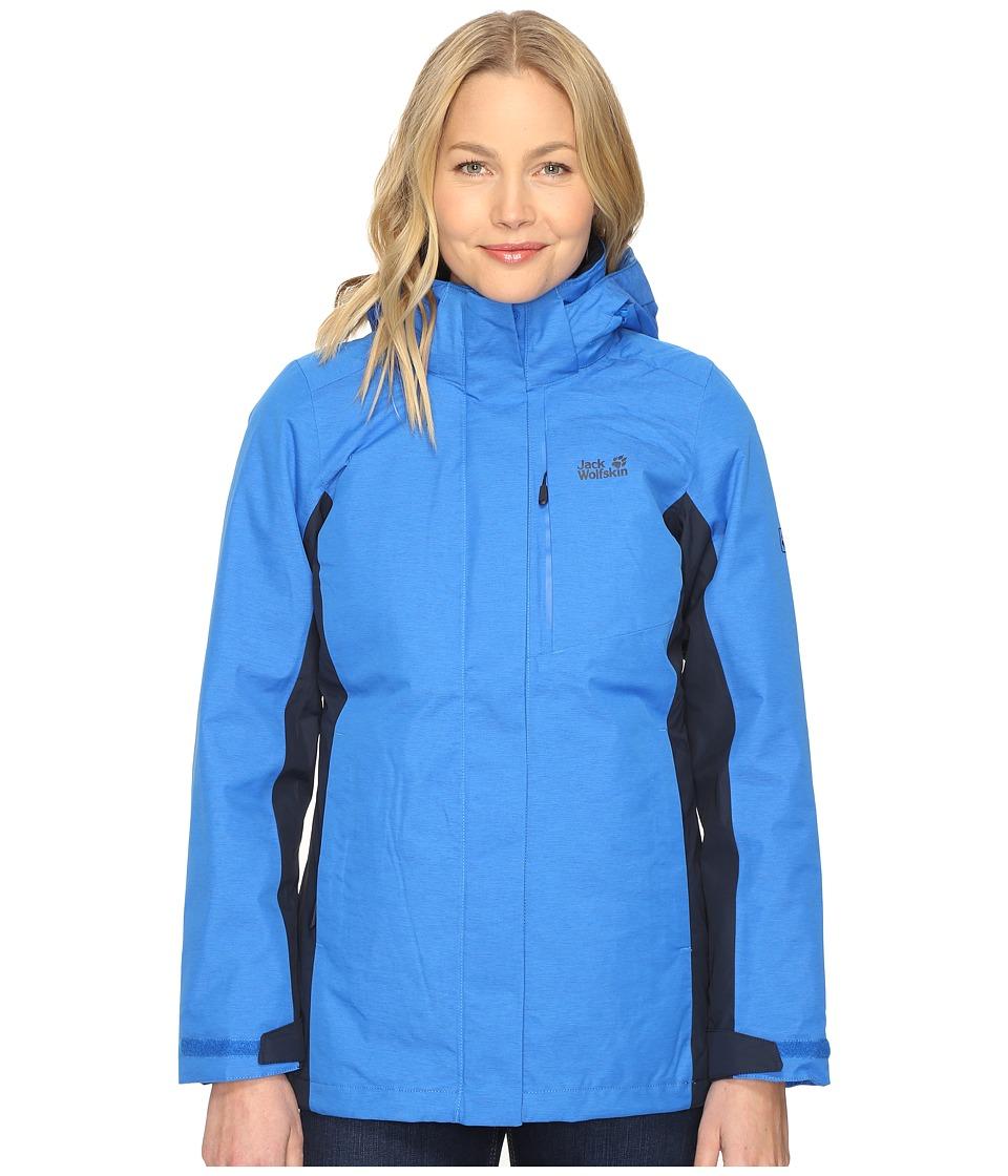 Jack Wolfskin - Viking Sky (Azure Blue) Women's Clothing
