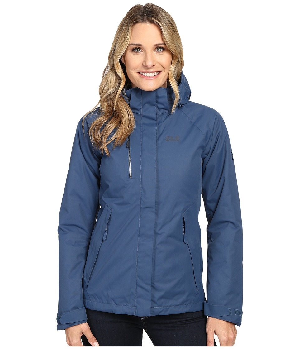 Jack Wolfskin - Northern Edge (Dark Sky) Women's Clothing