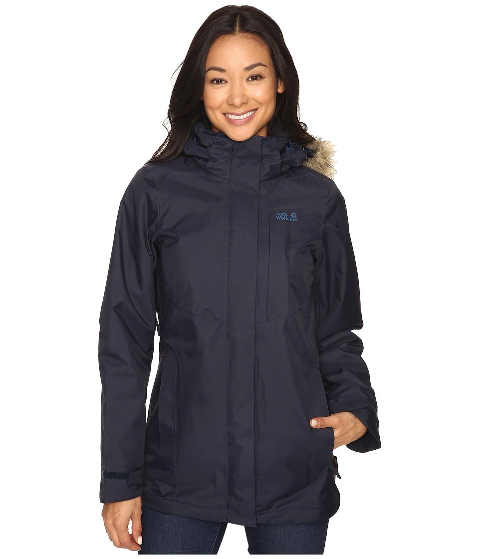 Jack Wolfskin - Arctic Ocean (Night Blue) Women's Clothing