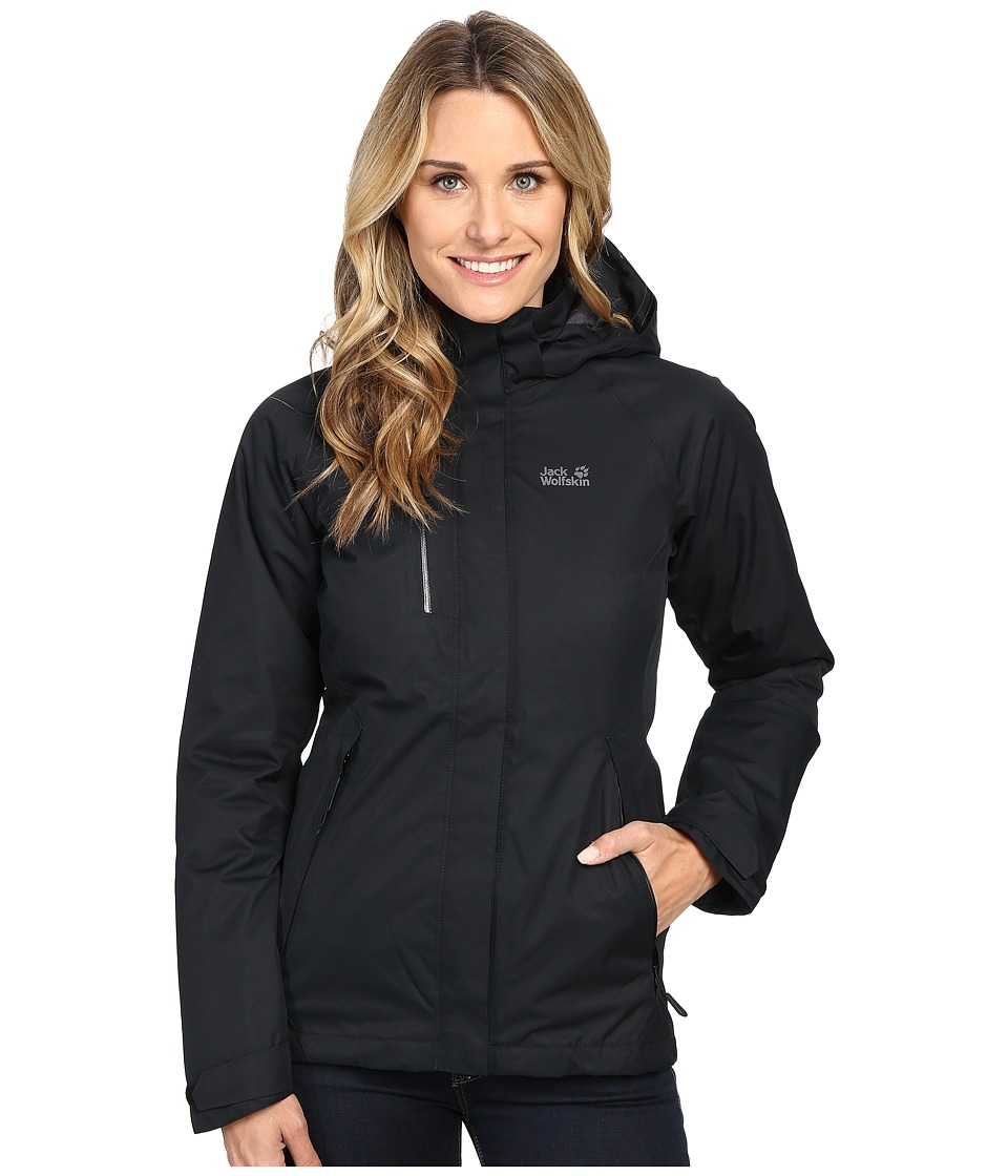 Jack Wolfskin - Northern Edge (Black) Women's Clothing