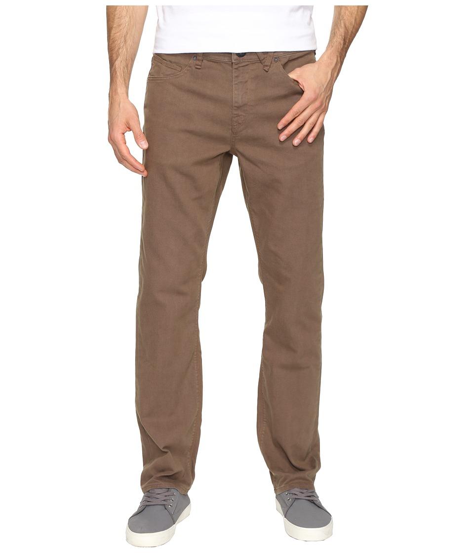 Volcom - Solver Modern Fit Stretch Denim (Mushroom) Men's Clothing