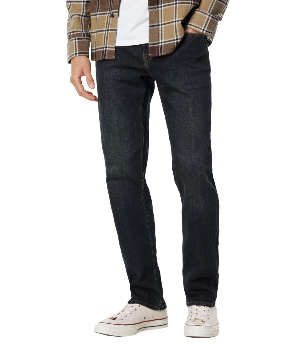 Volcom - Solver Modern Fit Stretch Denim (Vintage Blue) Men's Clothing