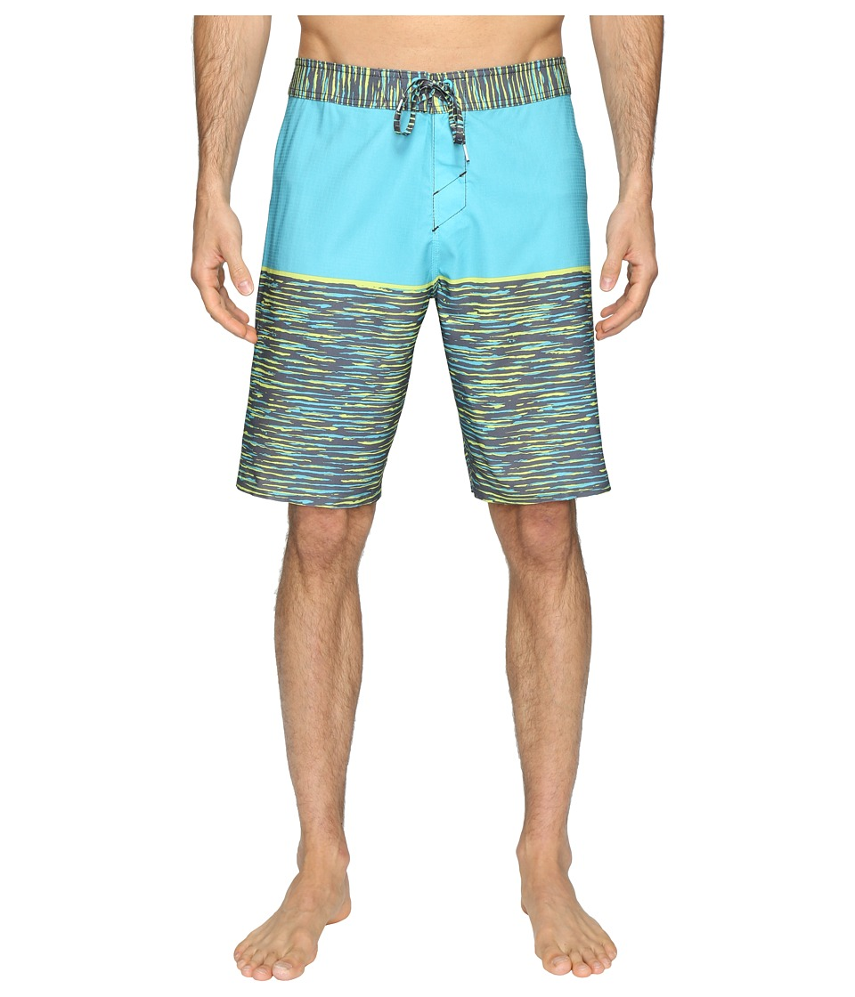 O'Neill - Hyperfreak Streaming Boardshorts (Turquoise) Men's Swimwear