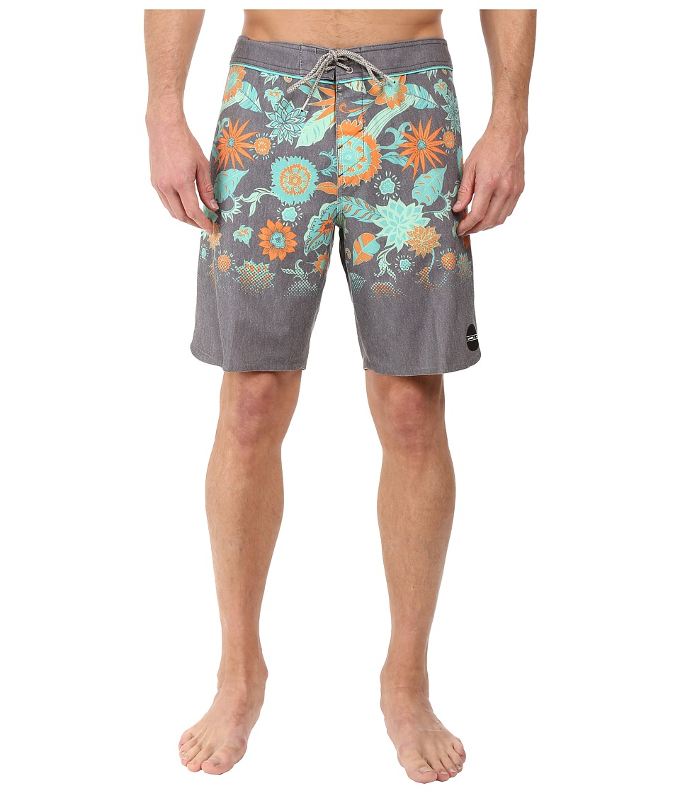 O'Neill - Hyperfreak Sprouted Boardshorts (Charcoal) Men's Swimwear