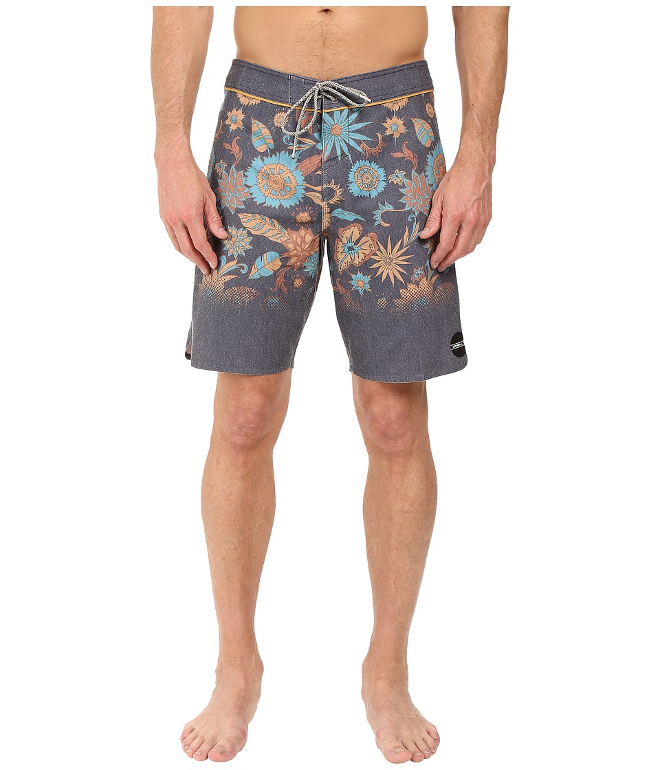 O'Neill - Hyperfreak Sprouted Boardshorts (Dark Indigo) Men's Swimwear