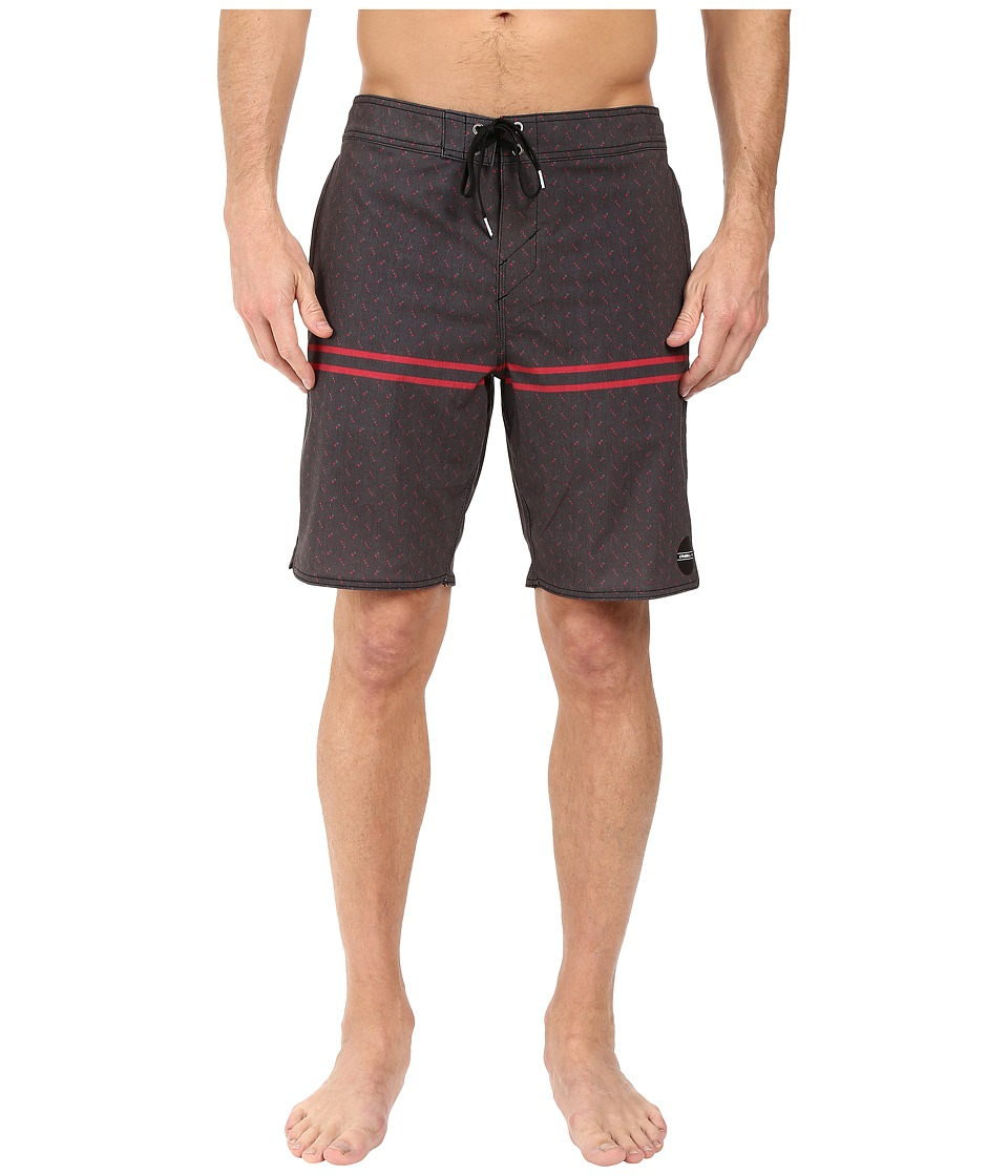 O'Neill - Hyperfreak Astoria Boardshorts (Black) Men's Swimwear