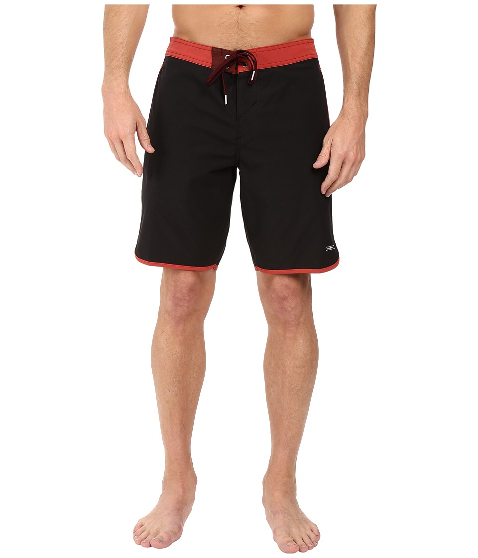 O'Neill - Hyperfreak Cruzer Boardshorts (Black) Men's Swimwear