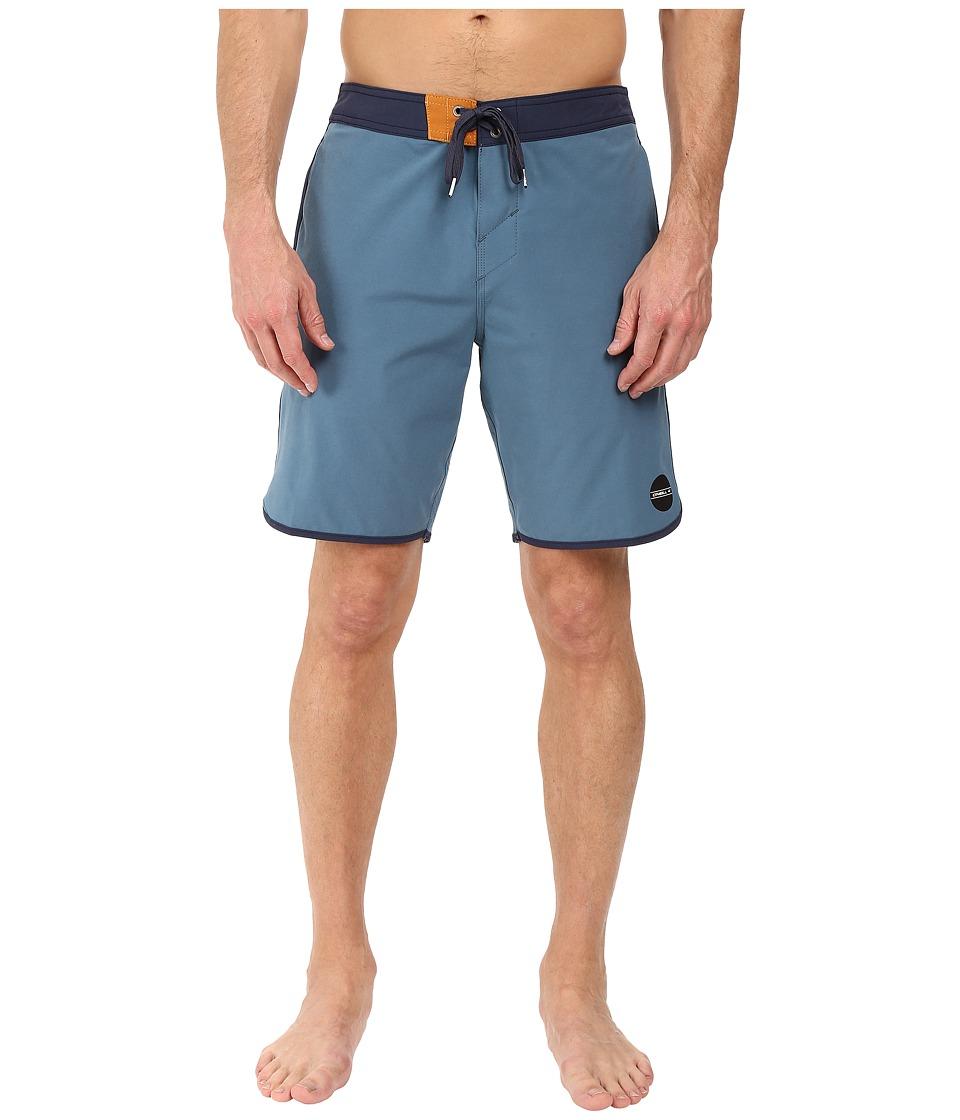 O'Neill - Hyperfreak Cruzer Boardshorts (Blue) Men's Swimwear