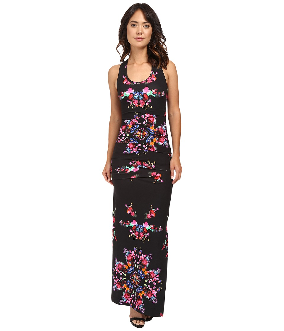Nicole Miller - Vanessa Bohemian Fleur Maxi Dress (Multi) Women's Dress