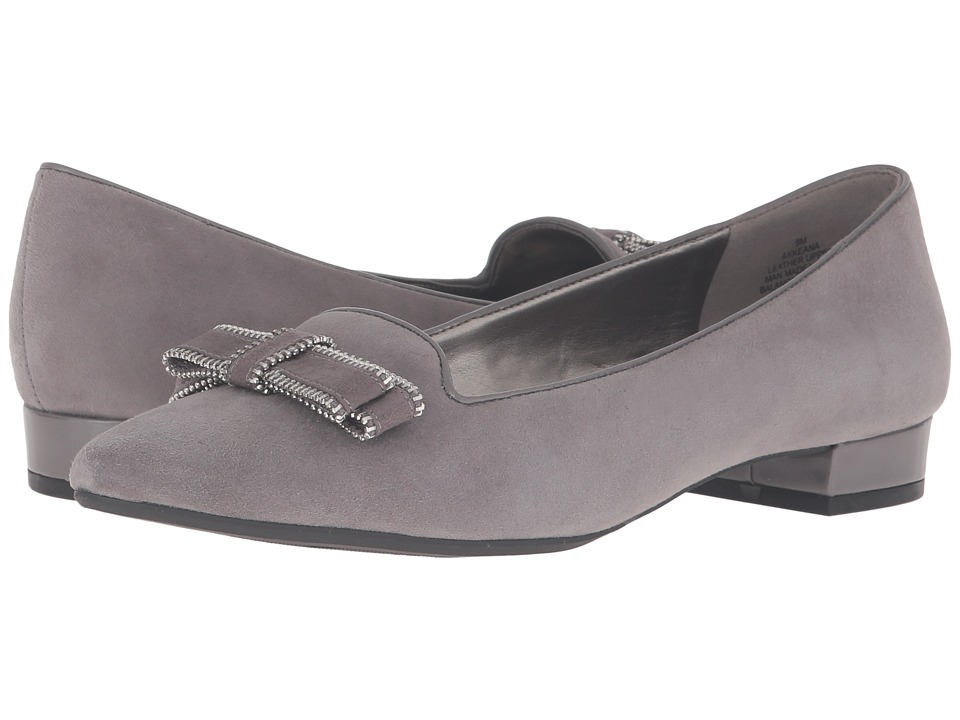 Anne Klein Keana (Dark Grey Multi Suede) Women