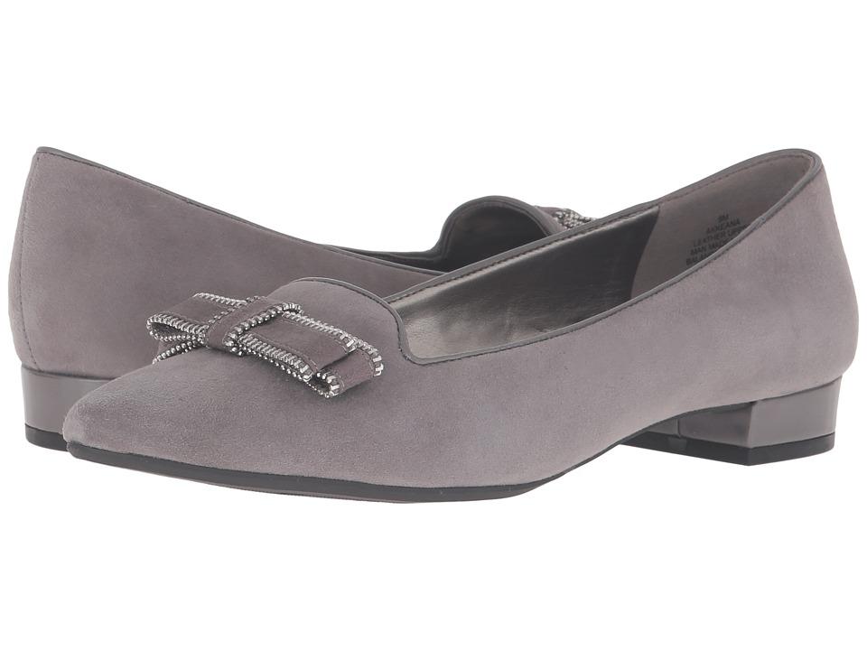 Anne Klein - Keana (Dark Grey Multi Suede) Women's Shoes
