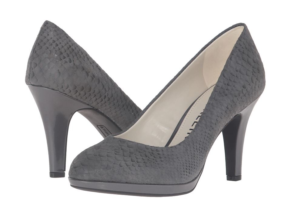 Anne Klein Lolana (Dark Grey Reptile) Women