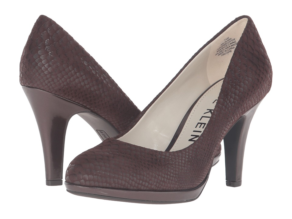 Anne Klein Lolana (Brown Reptile) Women