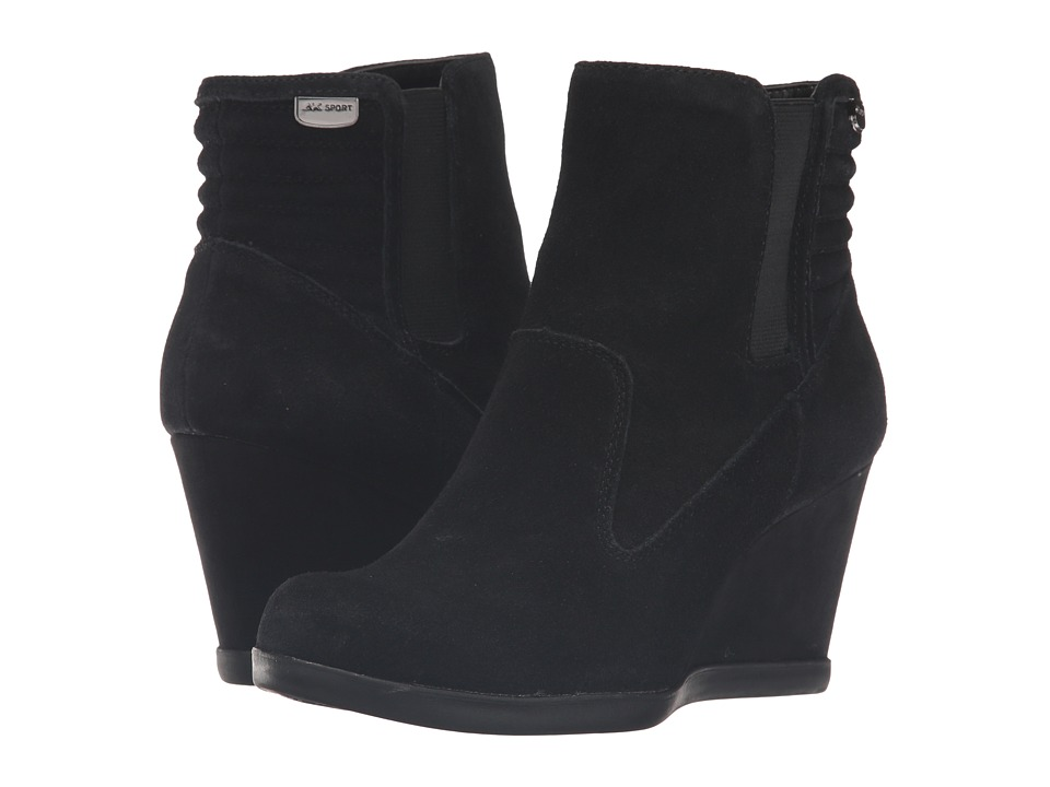 Anne Klein - Neither (Black Suede) Women's Shoes
