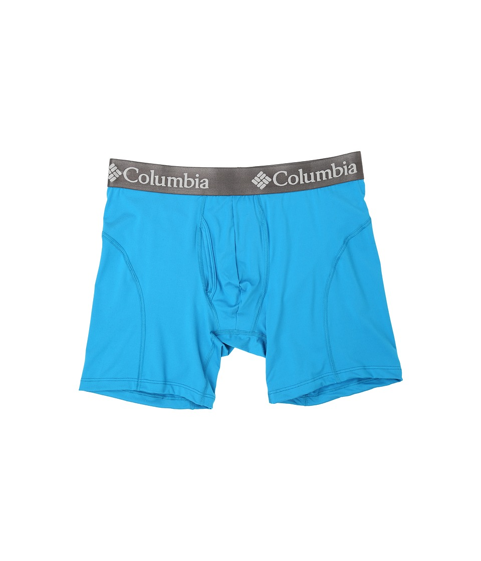 Columbia - Brushed Micro Boxer Brief (Compass Blue) Men's Underwear