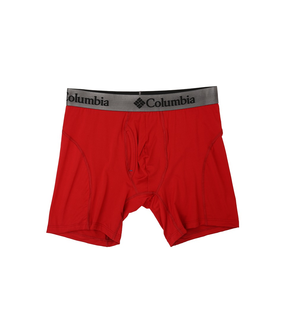 Columbia - Brushed Micro Boxer Brief (Chili Pepper) Men's Underwear