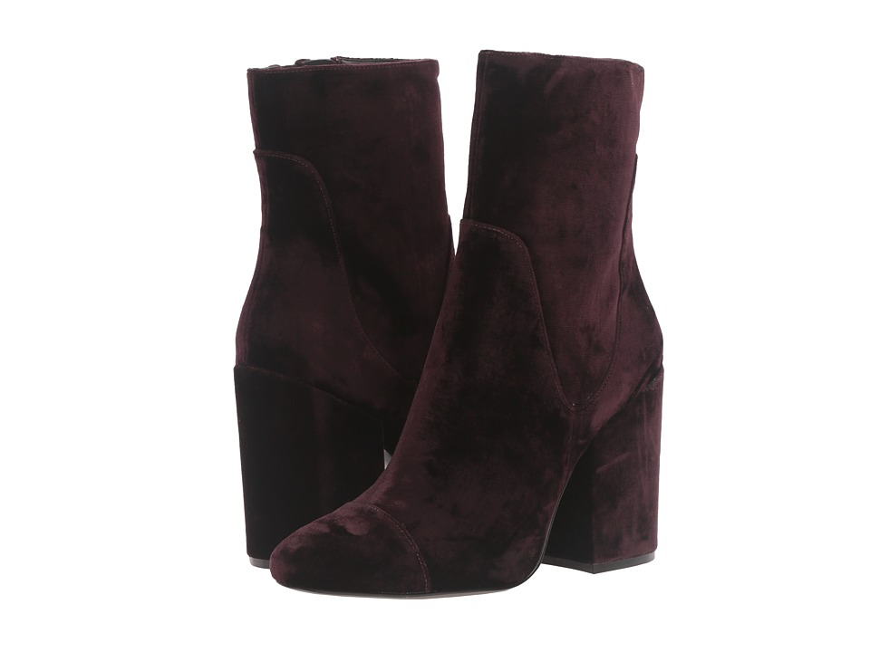 KENDALL + KYLIE - Brooke3 (Dark Purple/Smart Velvet Sarga) Women's Shoes