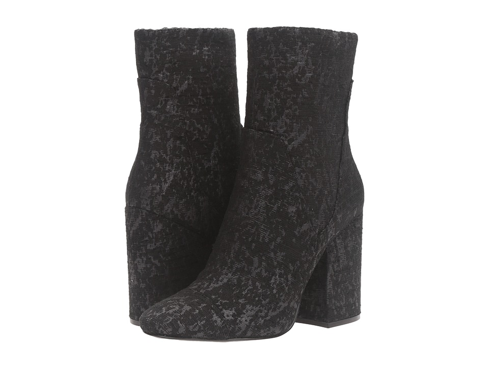 KENDALL + KYLIE - Brooke3 (Black Fabric Bliss) Women's Shoes