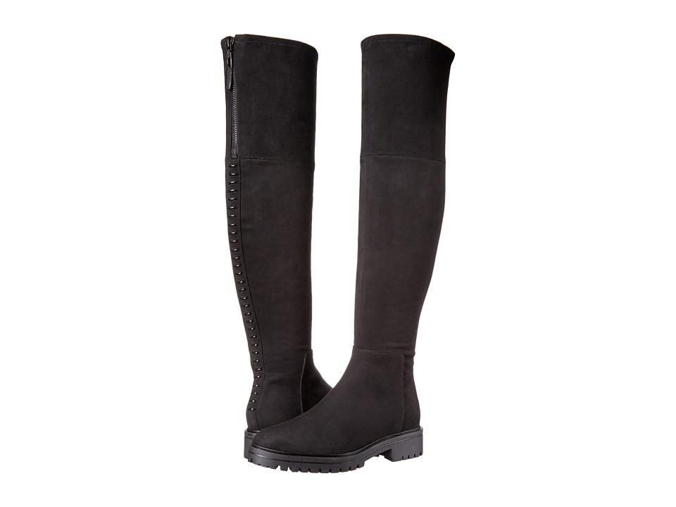KENDALL + KYLIE - Jasper2 (Black Fabric/Super Fine Suede) Women's Shoes
