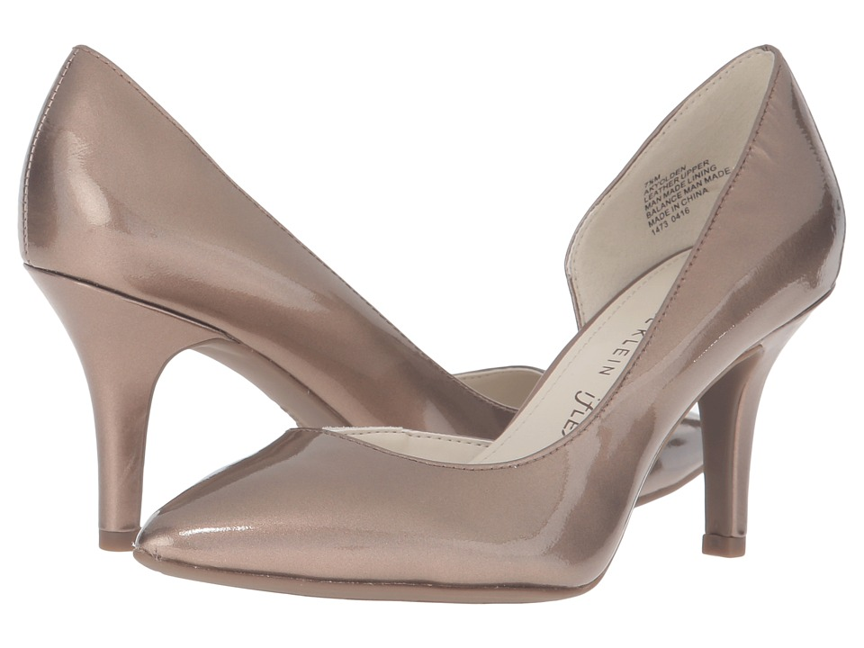 Anne Klein - Yolden (Metallic Taupe Patent) High Heels