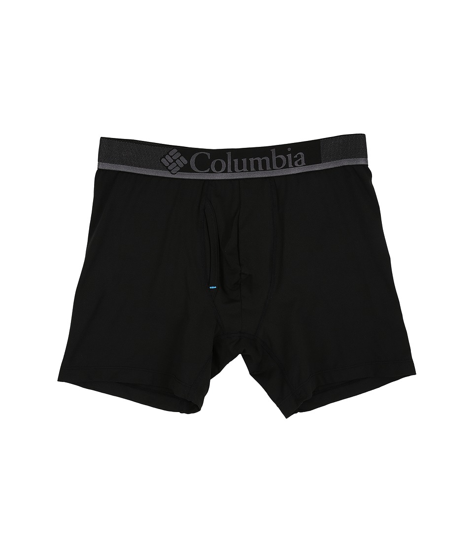 Columbia - Performance Mesh Boxer Briefs (Black) Men's Underwear