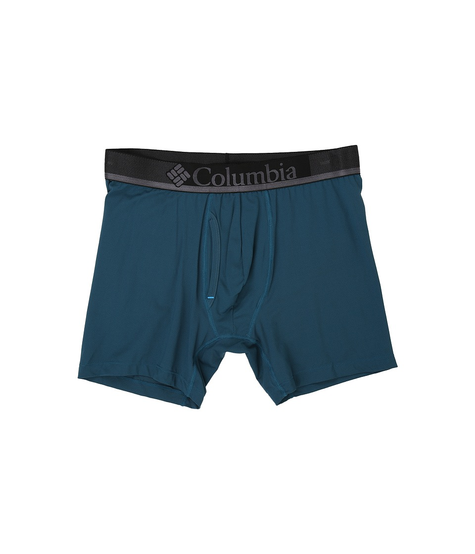 Columbia - Performance Mesh Boxer Briefs (Legion Blue) Men's Underwear