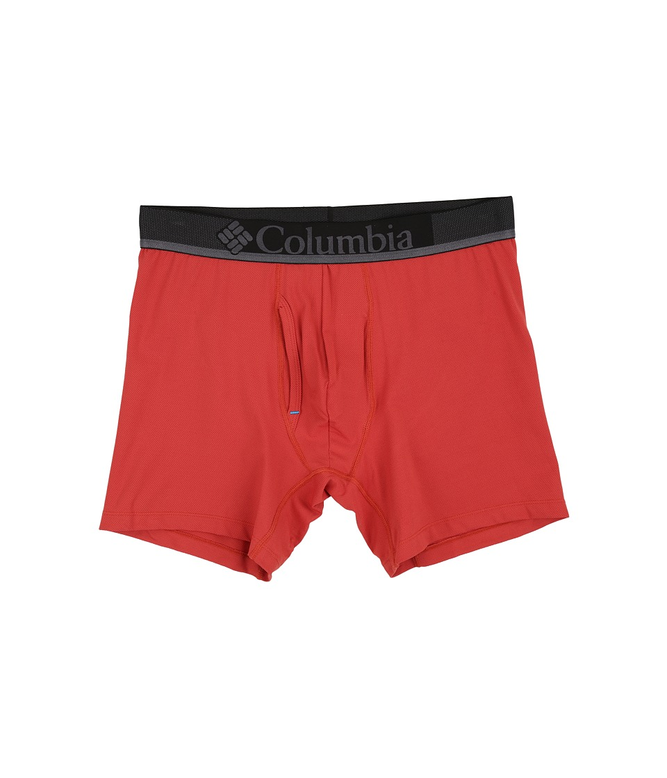 Columbia - Performance Mesh Boxer Briefs (Cinnabar) Men's Underwear