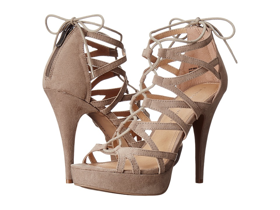 Chinese Laundry - Hollie (Taupe Suede) Women's Shoes