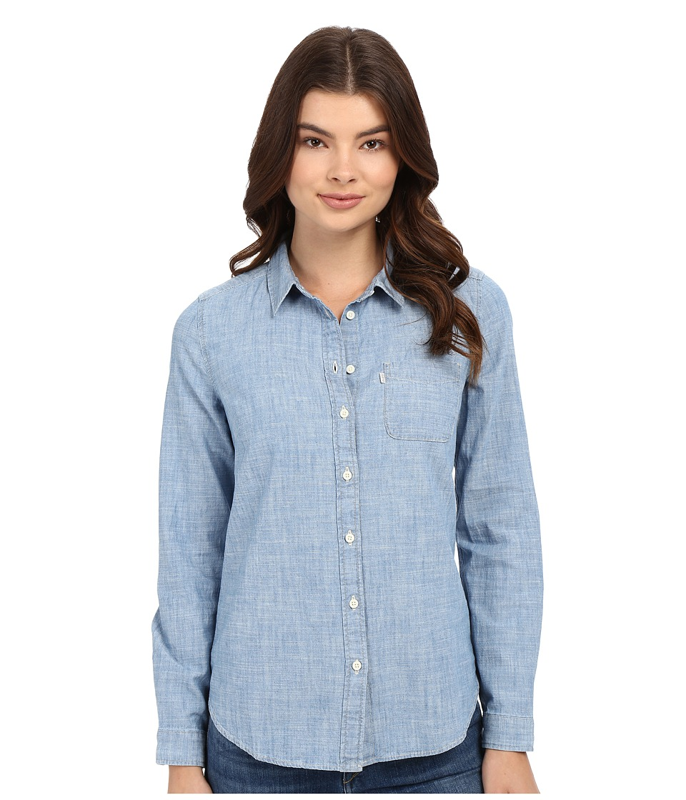 Levi's(r) Womens - Tailored Classic One Woven Shirt (Surplus Light) Women's Long Sleeve Button Up