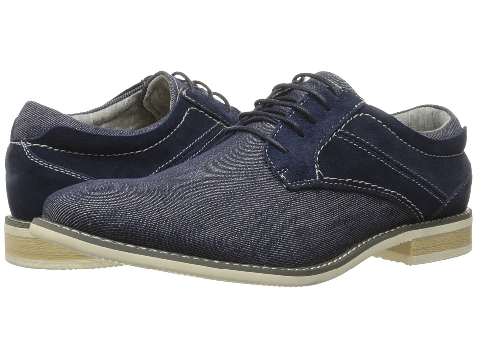 Steve Madden - Stoker (Navy Suede) Men's Shoes