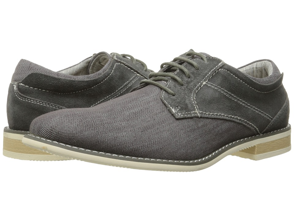 Steve Madden - Stoker (Grey Suede) Men's Shoes