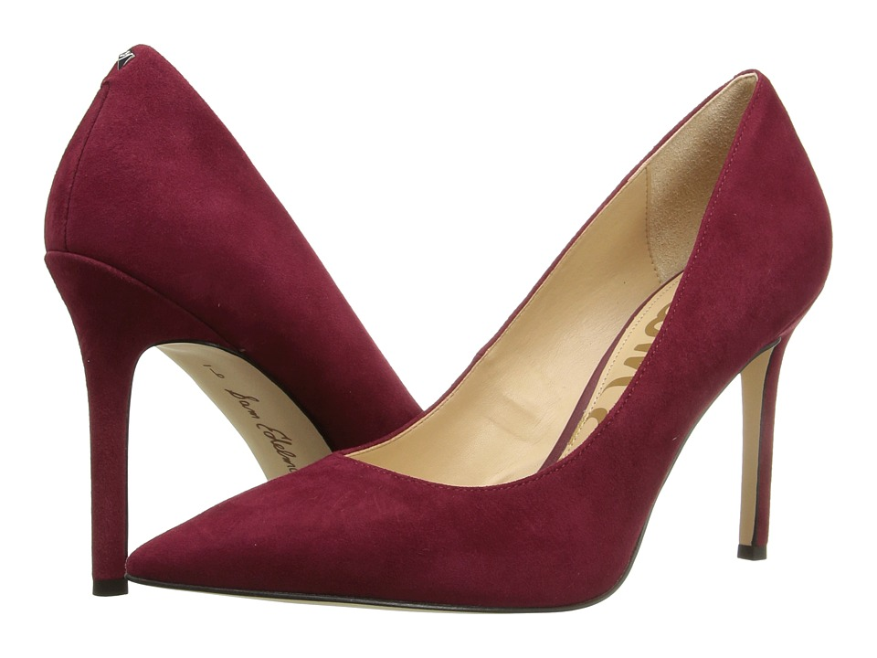 Sam Edelman - Hazel (Tango Red Kid Suede Leather) Women's Shoes