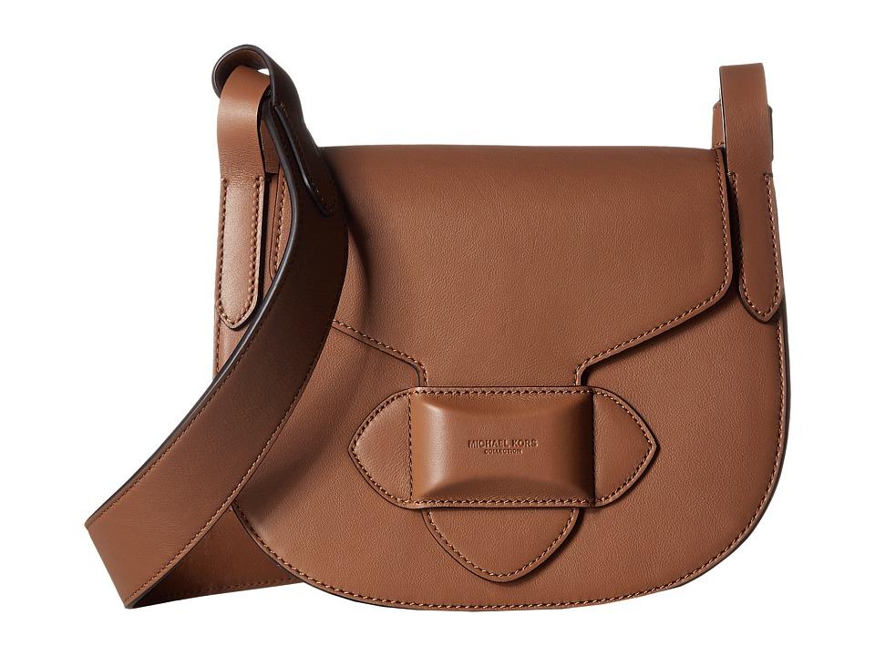 657a033ad025 UPC 190417021016 product image for Michael Kors - Daria Small Crossbody  Saddle Bag (Luggage) ...