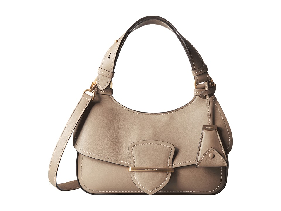 Michael Kors - Josie Mid Shoulder (Dark Taupe) Shoulder Handbags