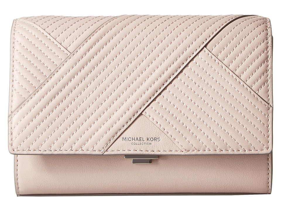 Michael Kors - Yasmeen Small Clutch (Cameo) Clutch Handbags