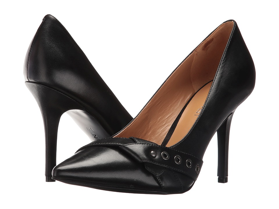 Nine West - Julip (Black Leather) Women's Shoes