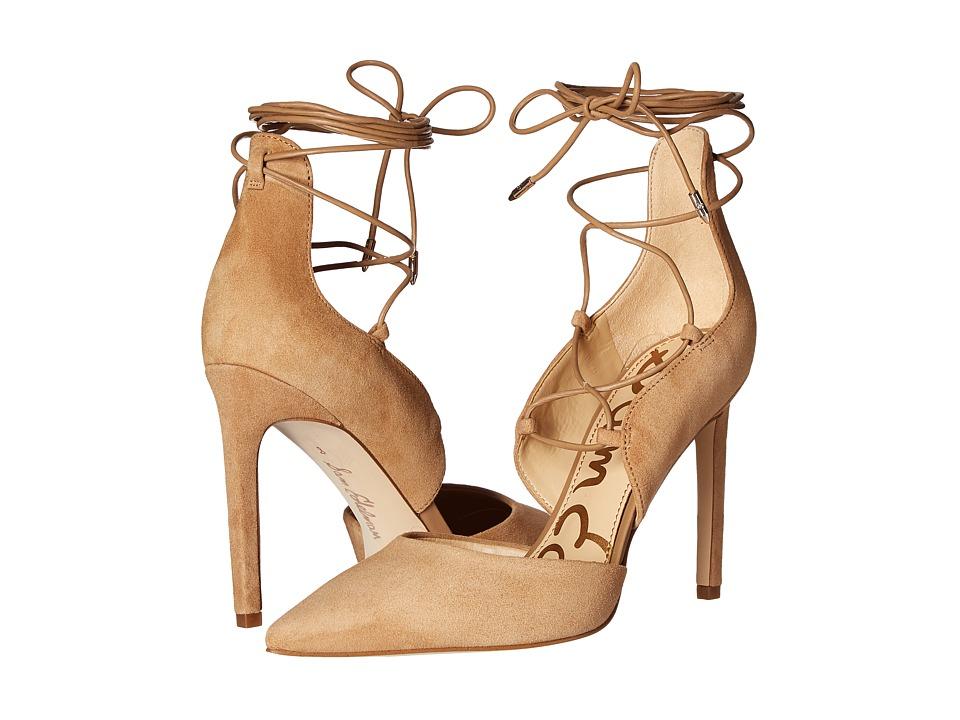Sam Edelman - Helaine (Golden Caramel Kid Suede Leather) Women's Shoes