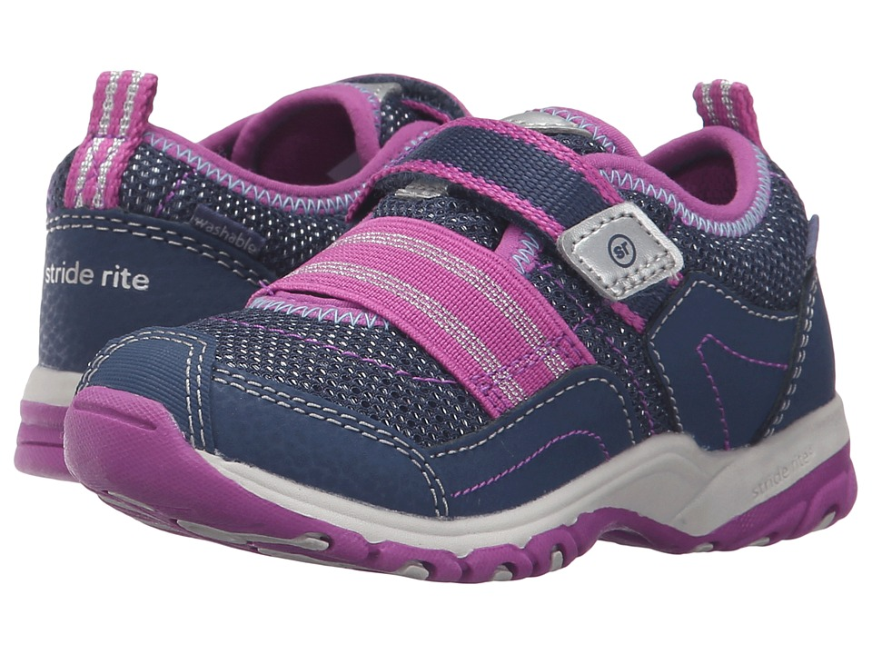 Stride Rite - Made 2 Play Felicia (Toddler) (Navy) Girl's Shoes