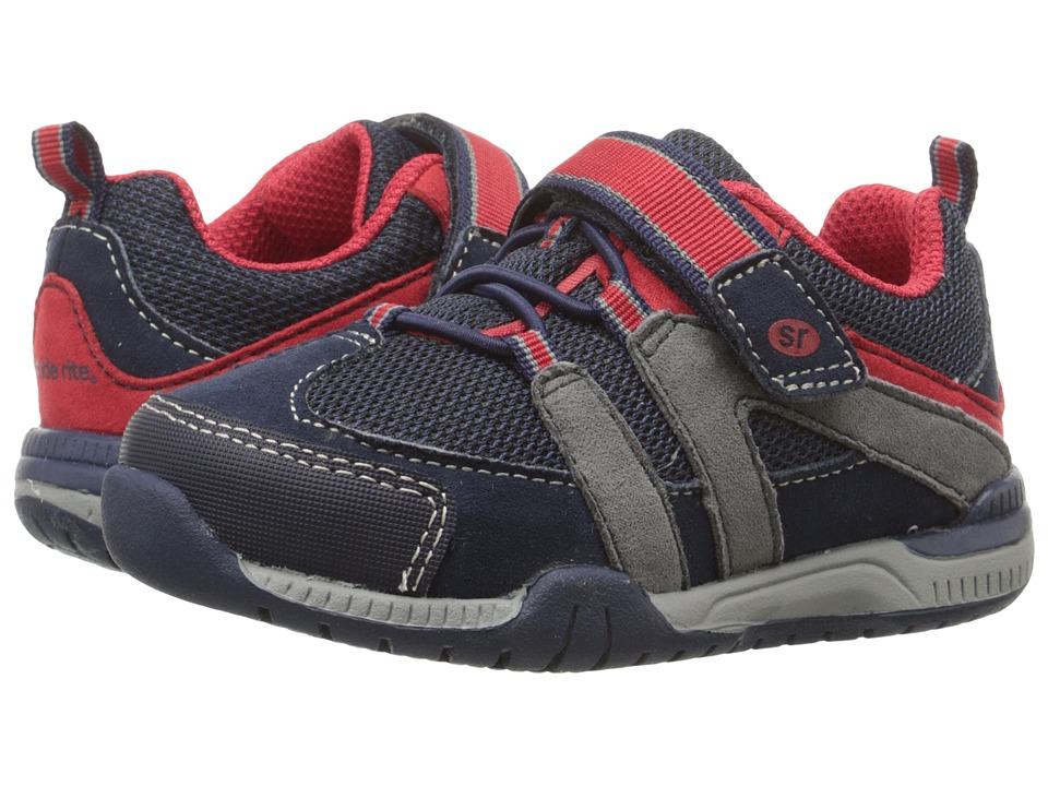 Stride Rite - Moss (Toddler/Little Kid) (Navy) Girl's Shoes