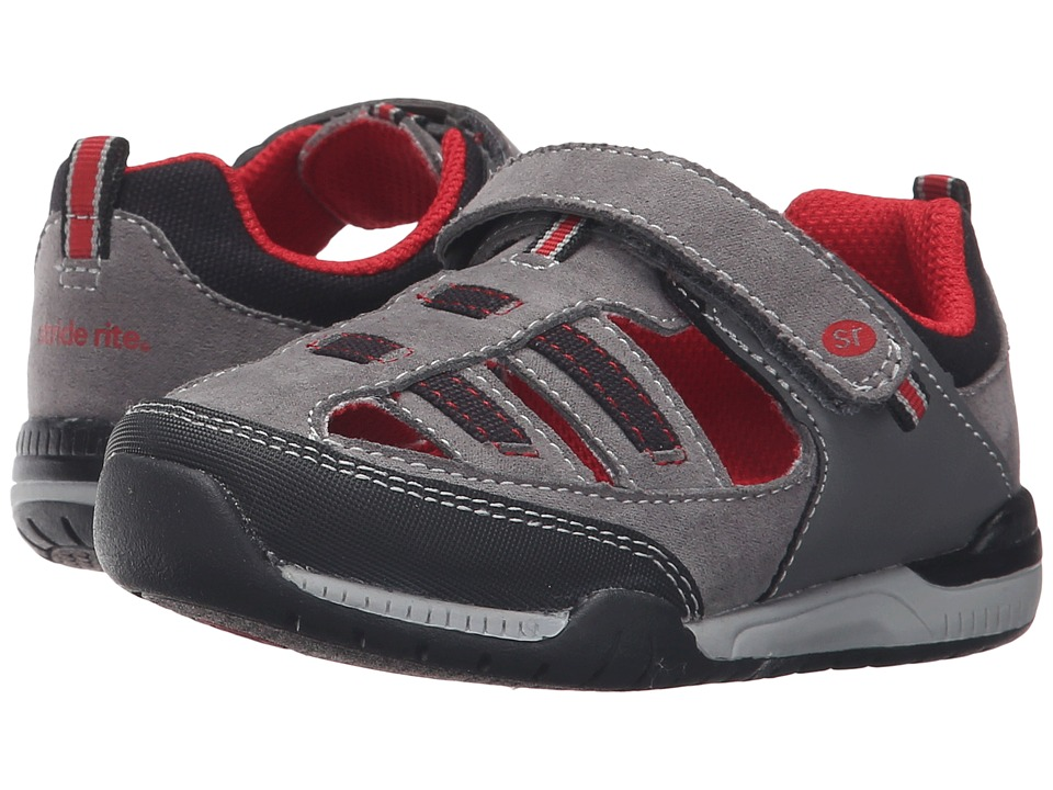 Stride Rite - Grady (Toddler/Little Kid) (Grey) Boy's Shoes