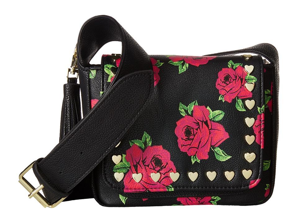 Betsey Johnson - Mini Saddle (Floral) Handbags